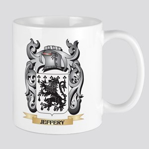 Jeffreys Coat of Arms - Family Crest Mugs