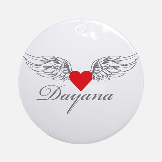 Angel Wings Dayana Ornament (Round)