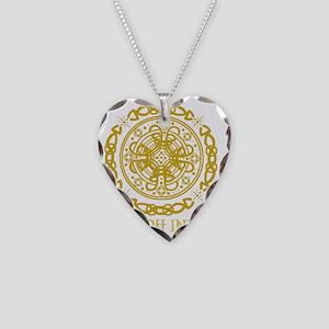 leona gold Necklace Heart Charm