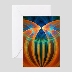 Abstract 192 Greeting Card