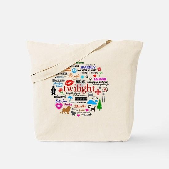 TwiMem V1 Clock Tote Bag