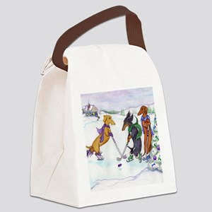 hockeyblanket Canvas Lunch Bag