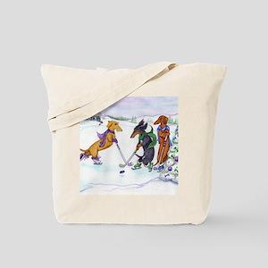 hockeyblanket Tote Bag