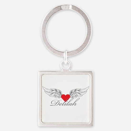 Angel Wings Delilah Keychains