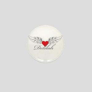 Angel Wings Delilah Mini Button