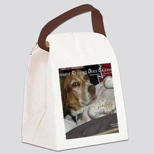 loveable rescue Canvas Lunch Bag
