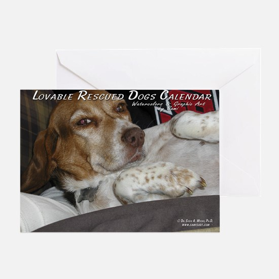 loveable rescue Greeting Card