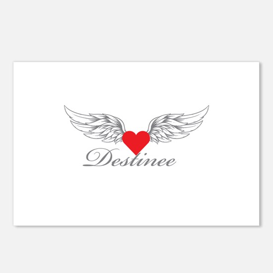 Angel Wings Destinee Postcards (Package of 8)