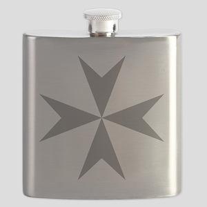 Cross of Malta - Grey Flask