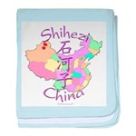 Shihezi China baby blanket