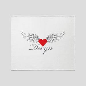 Angel Wings Devyn Throw Blanket