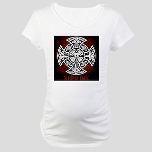 red sheild shirt Maternity T-Shirt