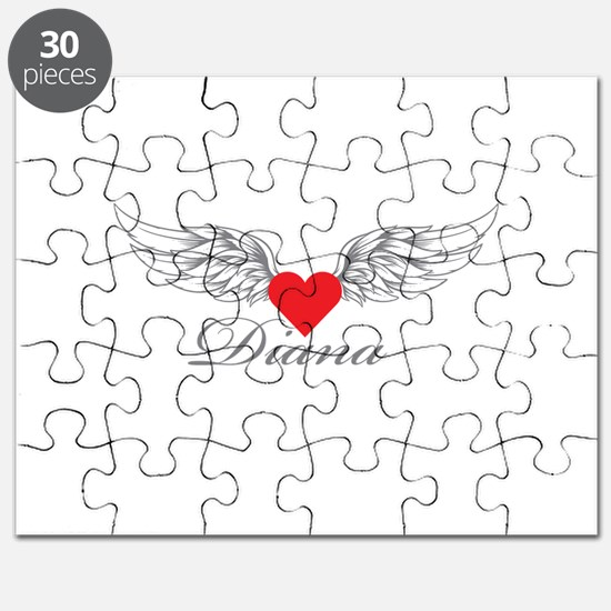 Angel Wings Diana Puzzle