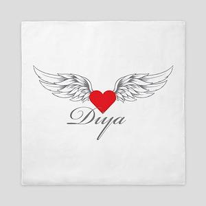 Angel Wings Diya Queen Duvet