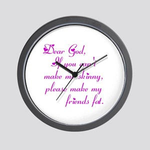 Dear God, Wall Clock