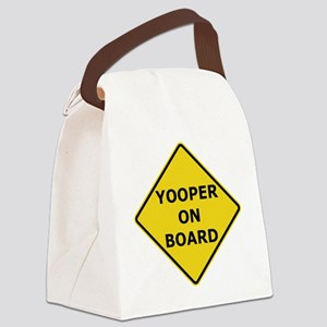 2000px-Yooper_On_Board_Sign Canvas Lunch Bag