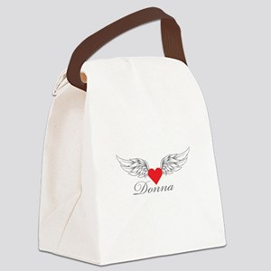 Angel Wings Donna Canvas Lunch Bag