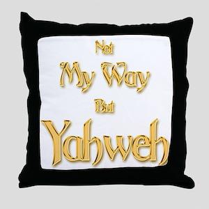 Yahweh Throw Pillow