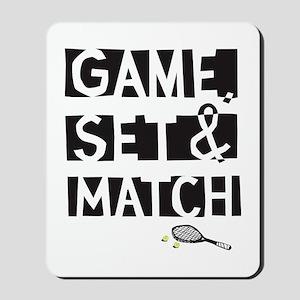 game_set_match2 Mousepad