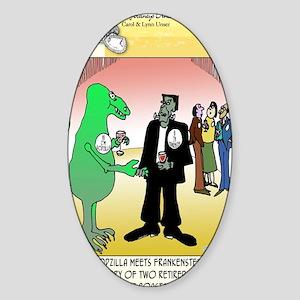 7841_CJU_cartoon Sticker (Oval)