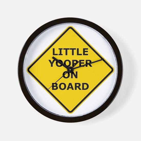 2000px-Little_Yooper_On_Board_Sign.gif Wall Clock