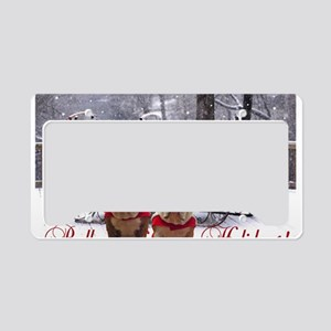 BullyHolidays License Plate Holder