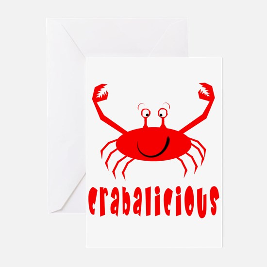 Crabalicious Greeting Cards (Pk of 10)
