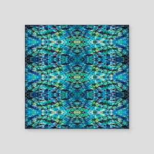 """Bluzure 1 Square Sticker 3"""" x 3"""""""