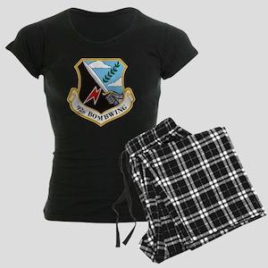 92nd Bomb Wing Women's Dark Pajamas