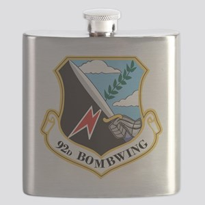 92nd Bomb Wing Flask