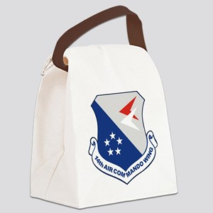 14th Air Commando Wing Canvas Lunch Bag