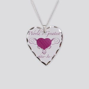 Heart_Daughter-In-Law Necklace Heart Charm
