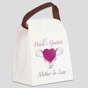 Heart_Mother-In-Law Canvas Lunch Bag