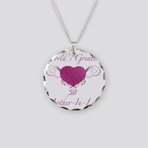 Heart_Mother-In-Law Necklace Circle Charm
