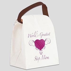 Heart_StepMom Canvas Lunch Bag
