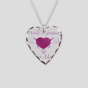 Heart_StepMom Necklace Heart Charm