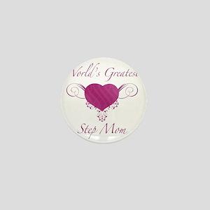 Heart_StepMom Mini Button