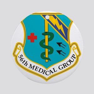 56th Medical Group Round Ornament