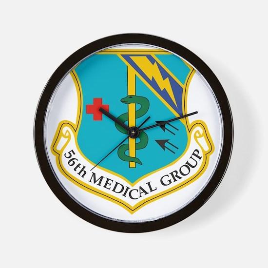 56th Medical Group Wall Clock