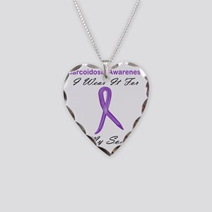 Son Necklace Heart Charm