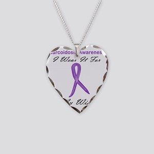 Wife Necklace Heart Charm