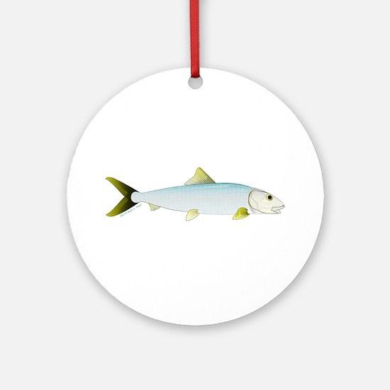 Bonefish Ornament (Round)