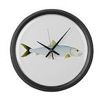Bonefish Large Wall Clock