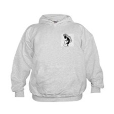 Kokopelli Backpacker Kids Hoodie