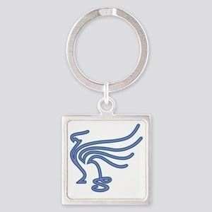 CafePressGriffinLogo Square Keychain
