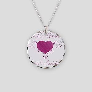 Heart_NA Necklace Circle Charm