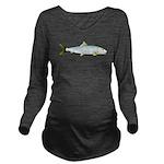 Bonefish c Long Sleeve Maternity T-Shirt