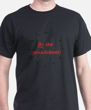 Spreadsheet_Be_RK2010_WallClock T-Shirt