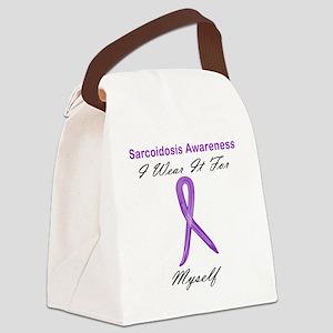 Myself Canvas Lunch Bag
