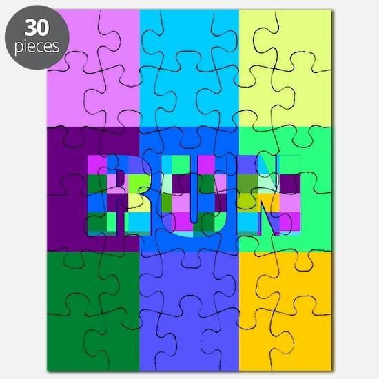 Run Squares Puzzle